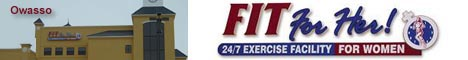 FIT For Her, 24/7 Exercise Gym for Women